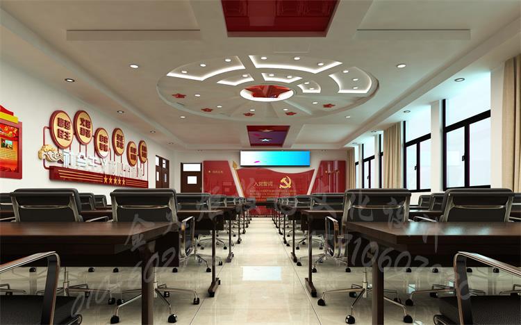 教师办公室的布置_弘扬红色文化,打造红色校园 - -最专业、最权威的校园文化设计 ...