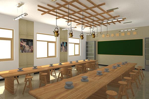 艺术设计学专业介绍_专业教室\陶艺室——专业的校园文化建设策划设计公司